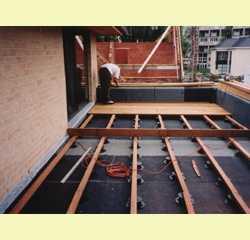 Montage materiaal houten terrassen t 39 hooft ruiselede belgi - Afbeeldingen van terrassen verwachten ...